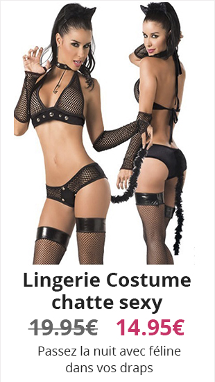 Lingerie Costume chatte sexy