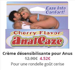 Crème désensibilisante pour Anus