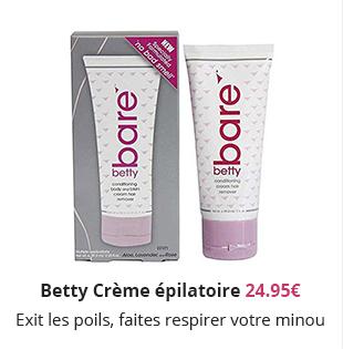 Betty Crème épilatoire