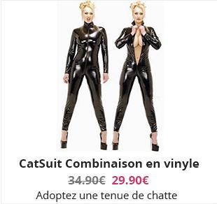 CatSuit Combinaison en vinyle