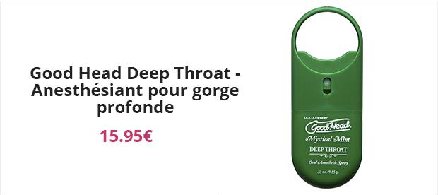 Good Head Deep Throat - Anesthésiant pour gorge profonde
